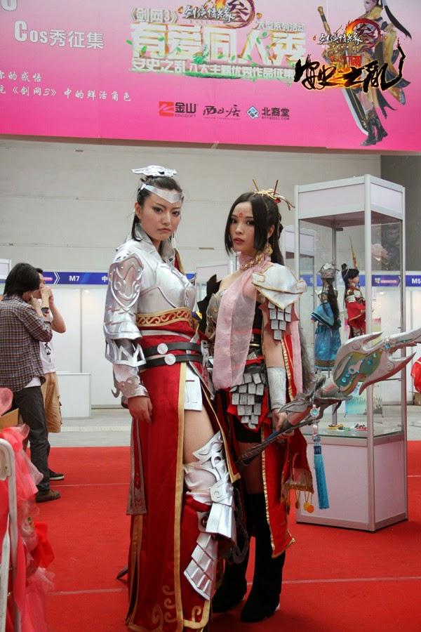 Ngắm bộ ảnh cosplay cực đẹp của Võ Lâm Truyền Kỳ 3