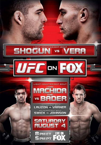 UFC on Fox 4 Mauricio Rua - Brandon Vera + Prelims (04.08.2012) PL.TVRip.XviD / PL