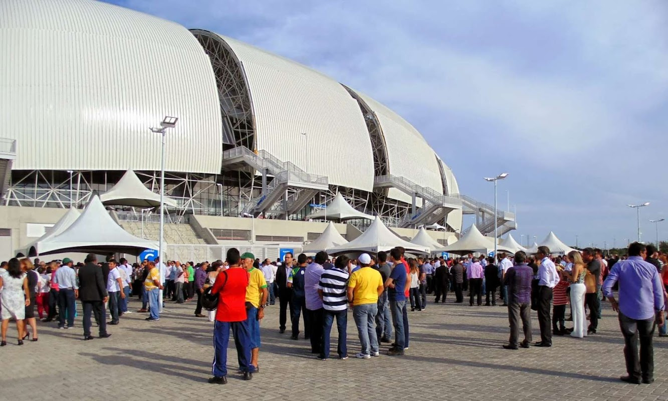 officially opened Arena das Dunas by Populous
