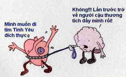 Cười Lăn Lộn Với Hình Ảnh Hài Hước Về Tình Yêu Trên Facebook