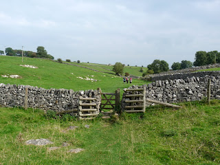 Almost back in Monyash - Bagshaw Dale
