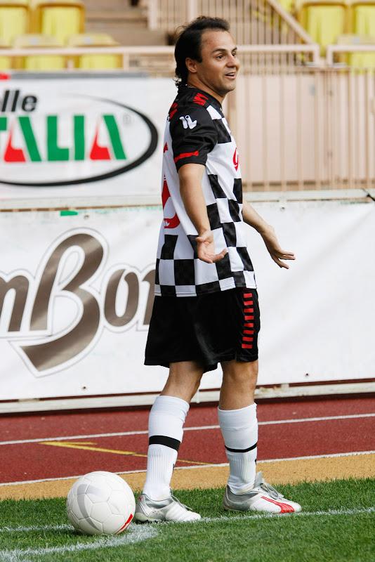 Фелипе Масса на благотворительном футбольном матче в Монте-Карло 2011