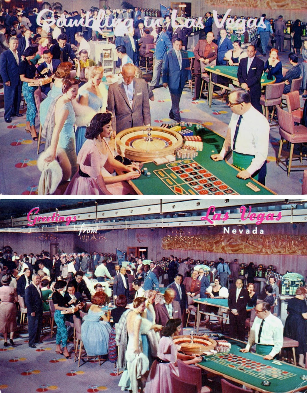 1950's Gambling in Las Vegas