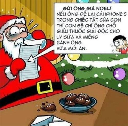 Những lá thư vui gửi ông già Noel nhân ngày lễ Giáng sinh
