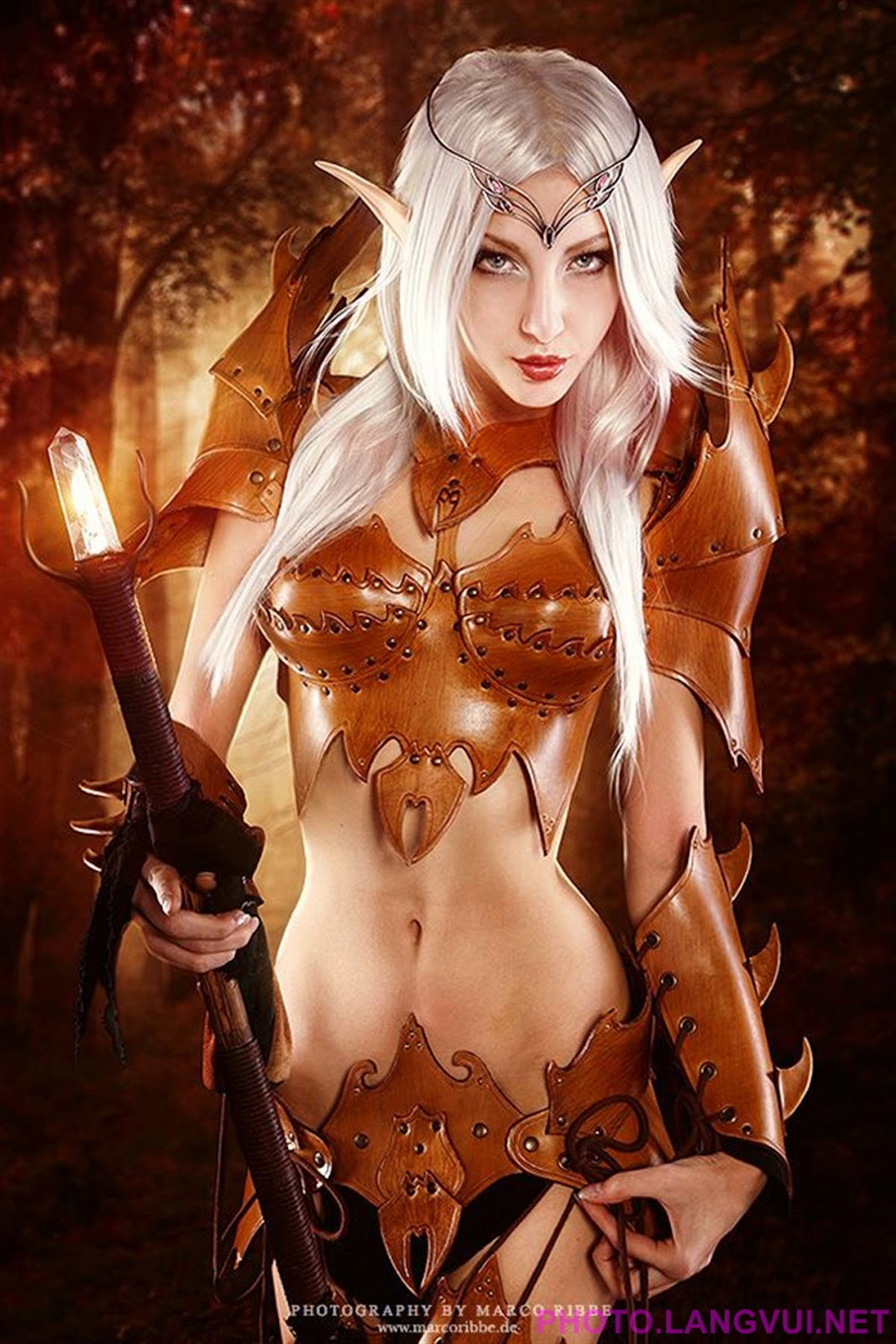 Blood elf adult costume adult image
