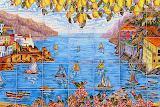 Painted Ceramic - Amalfi Coast, Italy