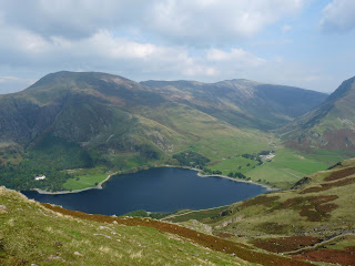 Buttermere from descent of High Stile