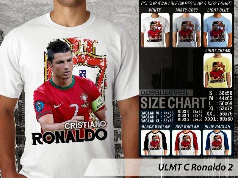 Kaos bola Cistiano Ronaldo 2 distro ocean seven