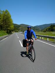 Biking near Izumi