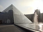 A great, shadowed portrait of the pyramid