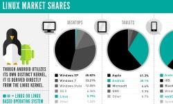 Linux market shares