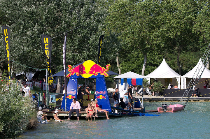 Départ TNG Wakeboard Wakeskate Wake and Country 2012 L'Isle Jourdain