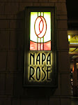 Our wonderful dinner on night 2 was at Napa Rose