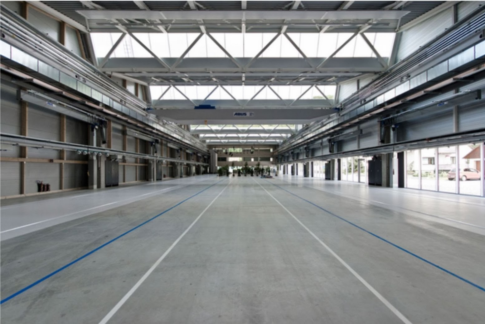 Production Hall Trumpf Hettingen by Barkow Leibinger