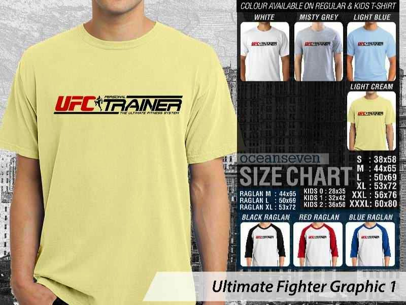Kaos UFC Ultimate Fighter UFC Trainer Graphic 1 distro