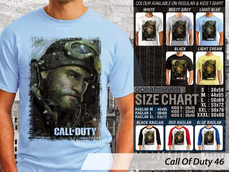 KAOS cod Call Of Duty 46 Game Series distro ocean seven