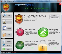 Download ARTAV AntiVirus Terbaru, Update ARTAV AntiVirus Rev 1.4