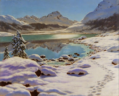 Ivan Fedorovich Choultse - Winter morning, Engadine