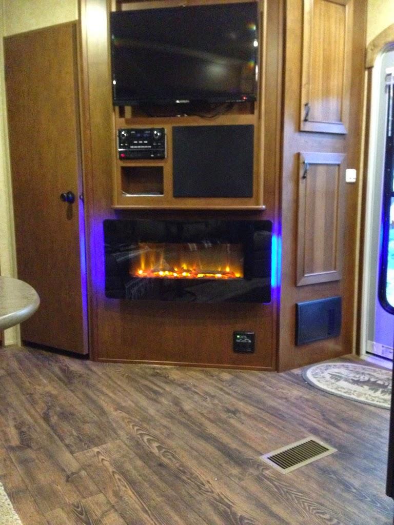 RV Net Open Roads Forum Fifth Wheels Fireplace
