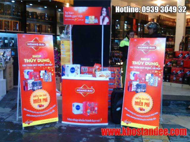 bán quầy booth bán hàng, trưng bày tại TPHCM