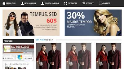 template blogpsot bán hàng miễn phí do dân seo