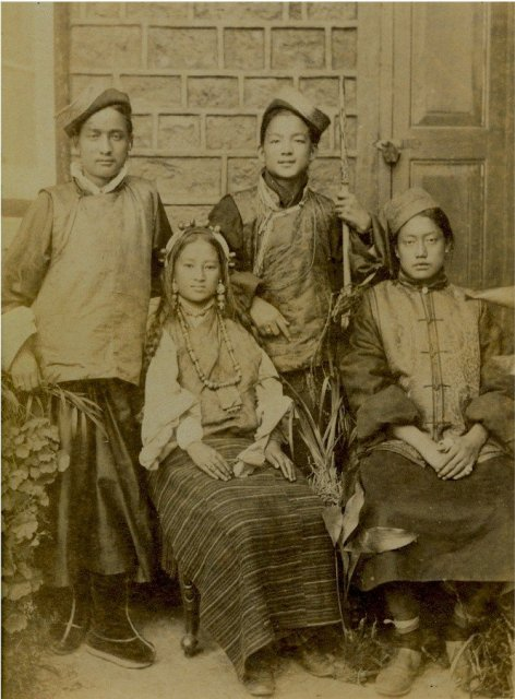 Khasi Teenagers, Meghalya, North East India - 1865