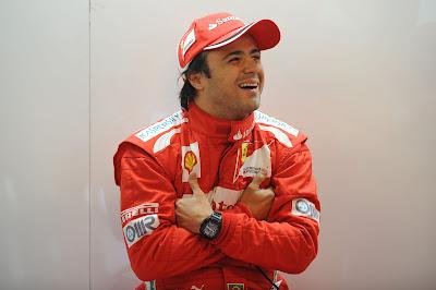 Фелипе Масса держит себя в руках на предсезонных тестах 2012 в Барселоне