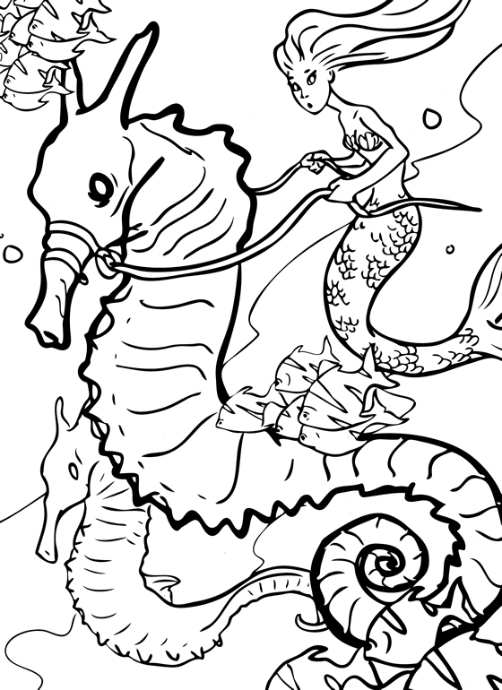 Top 25 Free Printable Little Mermaid Coloring Pages Online - mermaid printable coloring pages