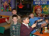 Friends at Chuck E Cheese