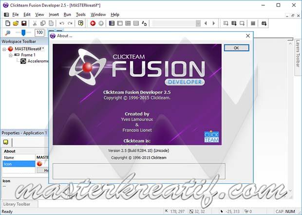 Clickteam Fusion 2.5 Developer