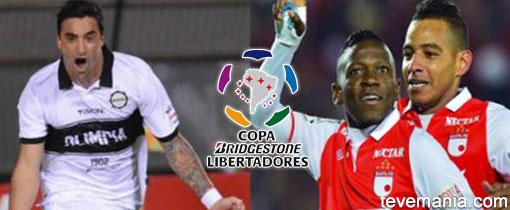 Olimpia vs Santa Fe en Vivo - Copa Libertadores 2013