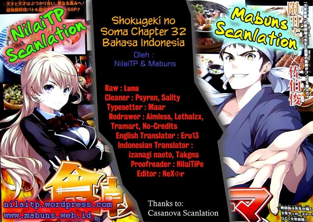 Shokugeki no Souma Chapter 32-0