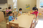 Toddlers in our Montessori school love being able to choose their own activities. That's why we give them long, uninterrupted periods for child-led exploration, instead of making them conform to tight, adult-led schedules.