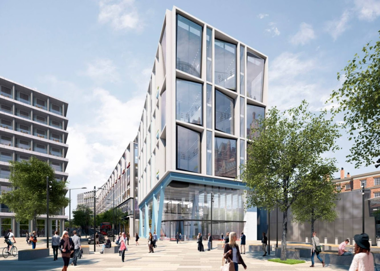 Londra, Regno Unito: GOOGLE'S New Headquarters by Allford Hall Monaghan Morris