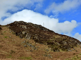 An old radio mast on Muncaster Fell