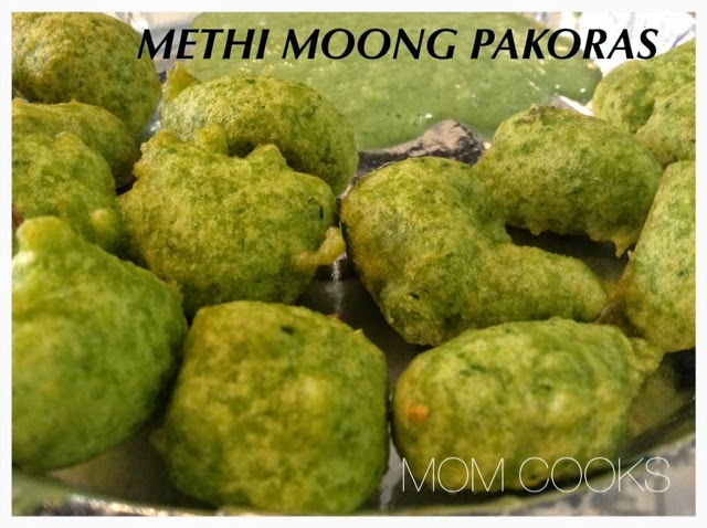 Moong Pakoras