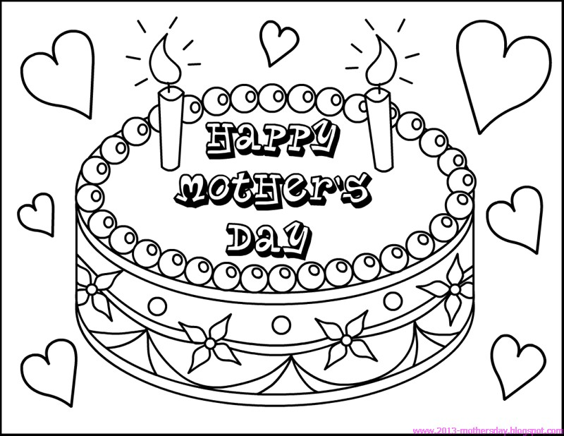 Mother's Day Coloring Pages Ministry-To-Children