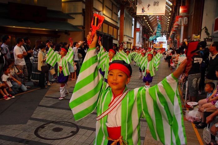 第59回よさこい祭り☆本祭2日目・はりまや橋競演場30☆上2目0043