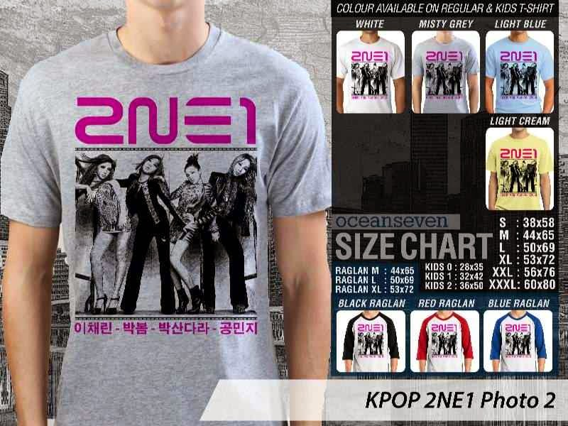 Kaos 2ne1 2 Photo K Pop Korea distro ocean seven