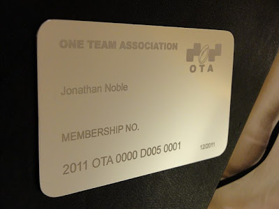 личная карта участника Jonathan Noble One Team Association
