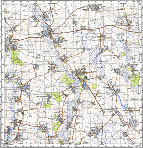 Map 100k--m36-052--(1987)