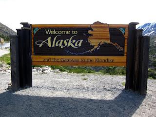 I'm in Alaska!