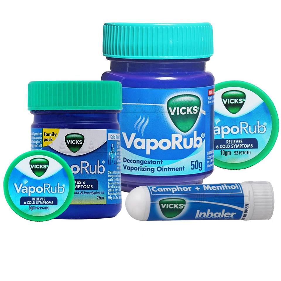 Some uses for Vicks VapoRub