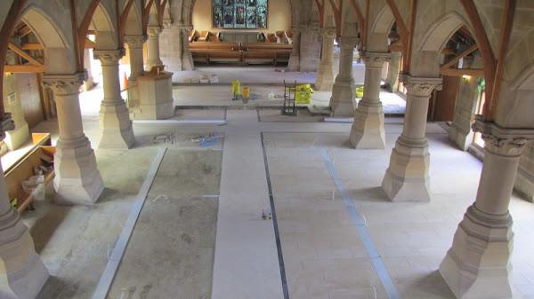 floor re-tiling