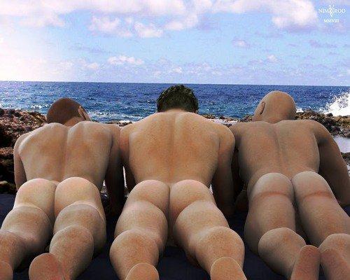 Фотки мужские задницы