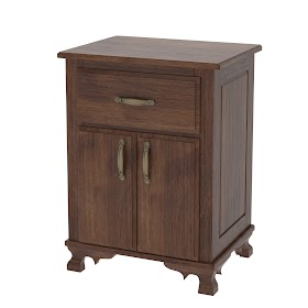 Prairie Nightstand with Doors
