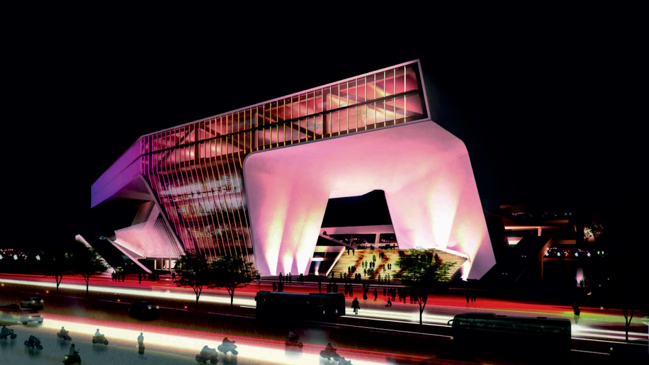 Kaohsiung, Taiwan: Kaohsiung Port And Cruise Service Center by Jet Architecture