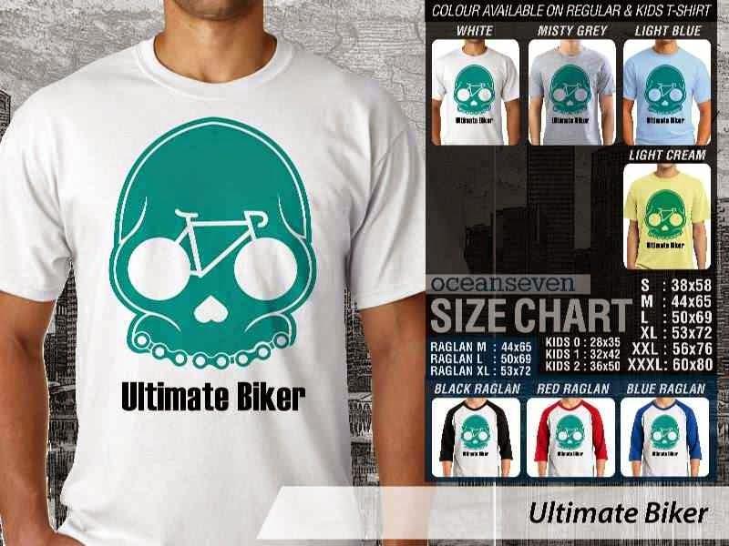 KAOS Ultimate Biker Untuk Sepeda Biker Mania distro ocean seven