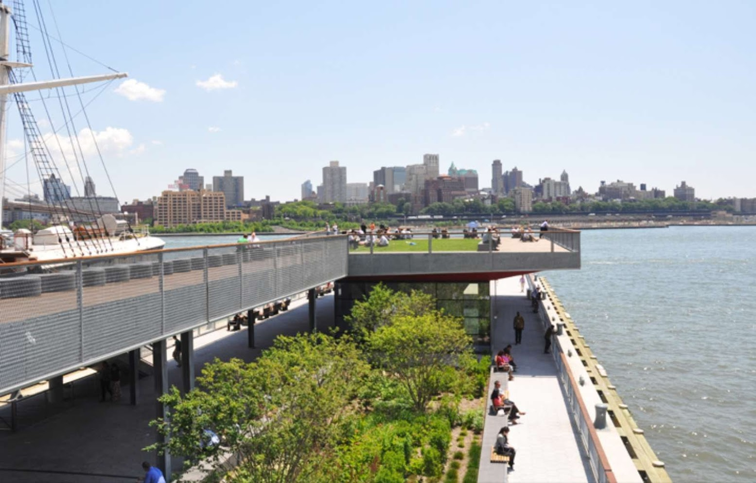 East River Waterfront by SHoP Architects