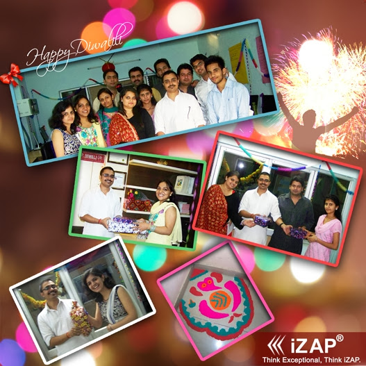"""Diwali Celebration @iZAP 2013"""
